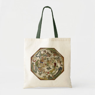Celestial Map by Peter Apian, Vintage Astronomy Tote Bag