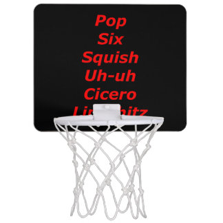 Cell Block Tango Mini Basketball Hoop