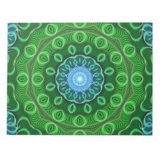 Cell Growth Mandala Notepad