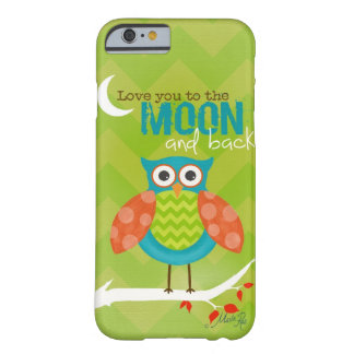 Cell Phone Cover / Love you to the Moon ~ Owl Barely There iPhone 6 Case