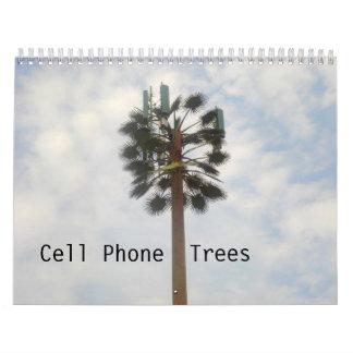 Cell Phone Trees Calendar