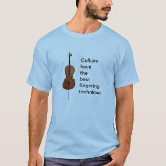 Cellists have the best fingering technique T-Shirt