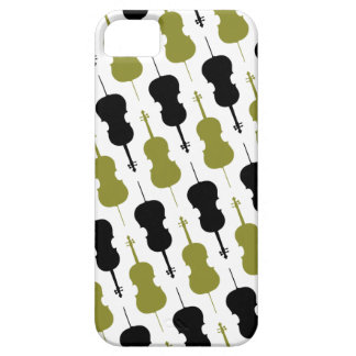 Cello Musical Pattern iPhone 5 Cases