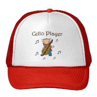 Cello Player Tshirts and Gifts Hat