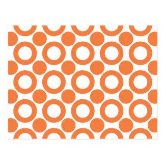 Celosia Orange Dot 3 Post Card