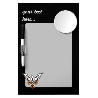 Celtic Bird Dry Erase Board With Mirror