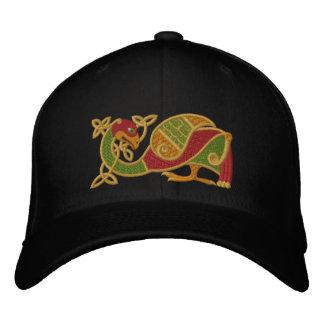 Celtic Bird Embroidered Cap