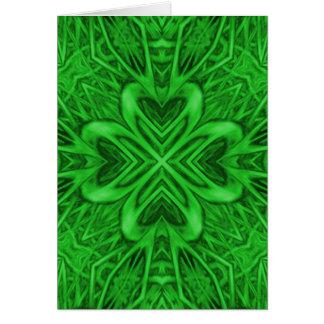 Celtic Clover Greeting Cards & Envelopes