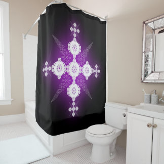 Celtic Crop Circle Shower Curtain