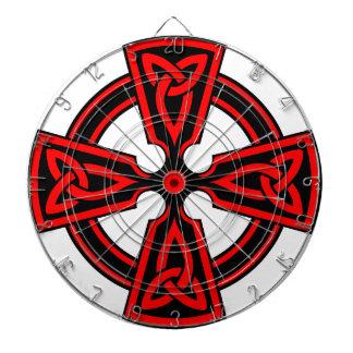 CELTIC CROSS - CELT/IRISH/IRELAND/IRISH/IRISHMAN DARTBOARD