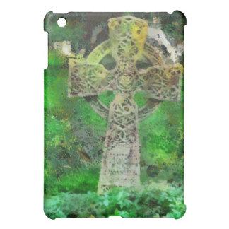 Celtic Cross Gravestone iPad Mini Covers