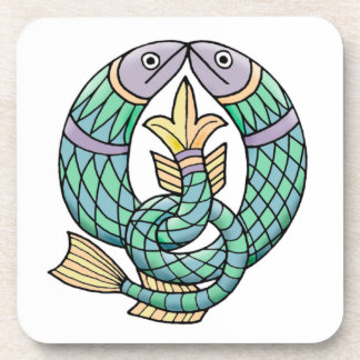Celtic Fish Coaster Set