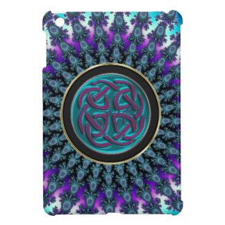 Celtic Fractal Radiant Cool Star Knot iPad Mini Cover