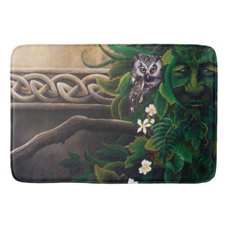 Celtic Green Man Bath Mat
