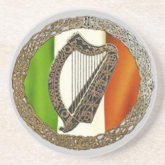 Celtic Harp Coaster