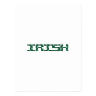 CELTIC IRISH POSTCARD