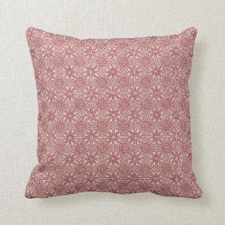 Celtic Knot Irish Red Pattern Throw Pillow