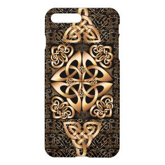 Celtic Knot on black iPhone 8 Plus/7 Plus Case