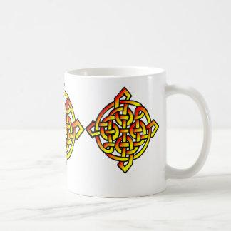 Celtic Seals Basic White Mug