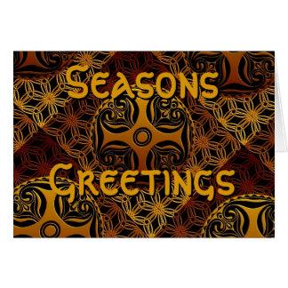 Celtic Seasons Greetings Card