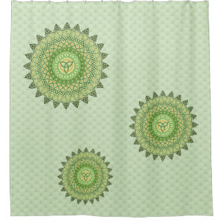Celtic St. Patty's Day Shower Curtain