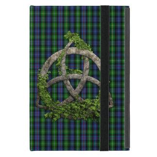Celtic Trinity Knot And Clan MacKenzie Tartan Cover For iPad Mini