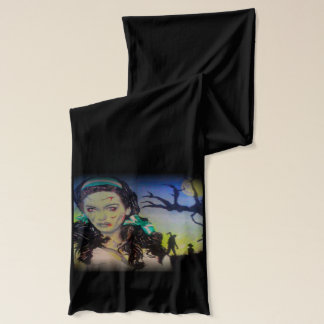 'Celtic Zombie Pride' on a Jersey Scarf
