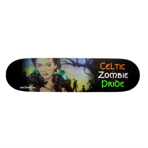 'Celtic Zombie Pride' Skateboard