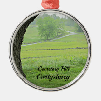 Cemetery Hill, Gettysburg Christmas Ornament