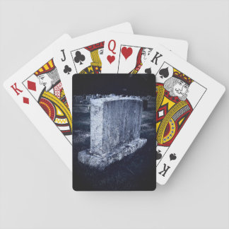 Cemetery Playing Cards, Standard Index faces Playing Cards