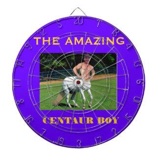 centaur boy dartboard