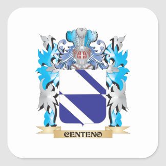 Centeno Coat of Arms - Family Crest Stickers