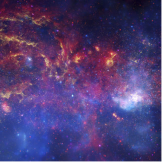 Center of the Milky Way Galaxy IV Photo Cut Out