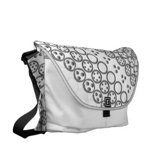 Centesimal 10 Dgt'3x3x3 Puzzle' by Kenneth Yoncich Messenger Bags