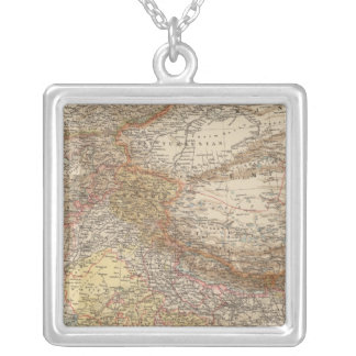 Central Asia, India Silver Plated Necklace