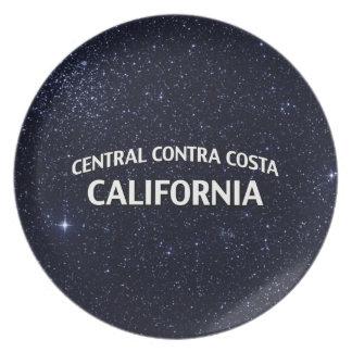 Central Contra Costa California Plate