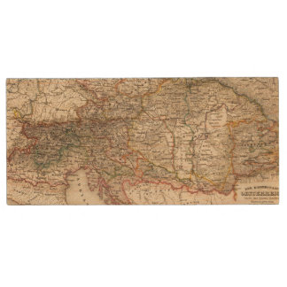 Central Europe Wood USB Flash Drive