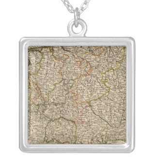Central Germany and Austria Silver Plated Necklace