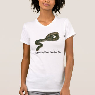 Central Highland Rainbow Boa Ladies Petite T T-Shirt