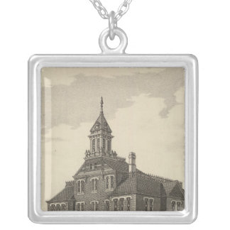 Central Kansas College Silver Plated Necklace