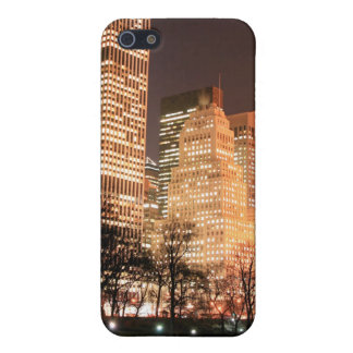 Central Park and Manhattan Skyline, New York City iPhone 5/5S Cases