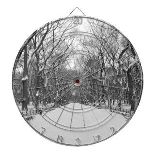 Central Park NYC in Winter - Dartboard