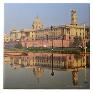 Central Secretariat on Raisina Hill Large Square Tile