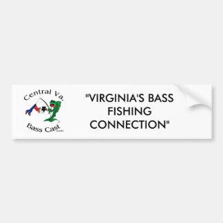 Central Virginia Bass Cast - Logo Bumpet Sticker Bumper Sticker