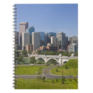 Centre St Bridge and Downtown Calgary, Alberta, Note Book