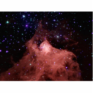 Cepheus B Star Formation Space NASA Standing Photo Sculpture