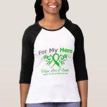 Cerebral Palsy Tribal Ribbon Hero T Shirts
