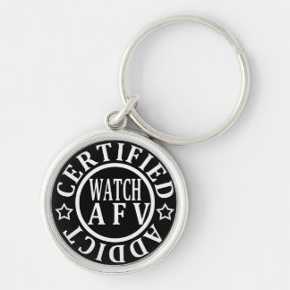 CERTIFIED ADDICT WATCH AFV KEY RING