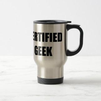CERTIFIED GEEK COFFEE MUGS