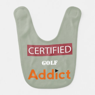 Certified Golf Addict Bib